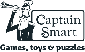 Captain Smart | Games, toys & puzzles for kids Logo