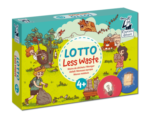 Lotto Less waste. Captain Smart