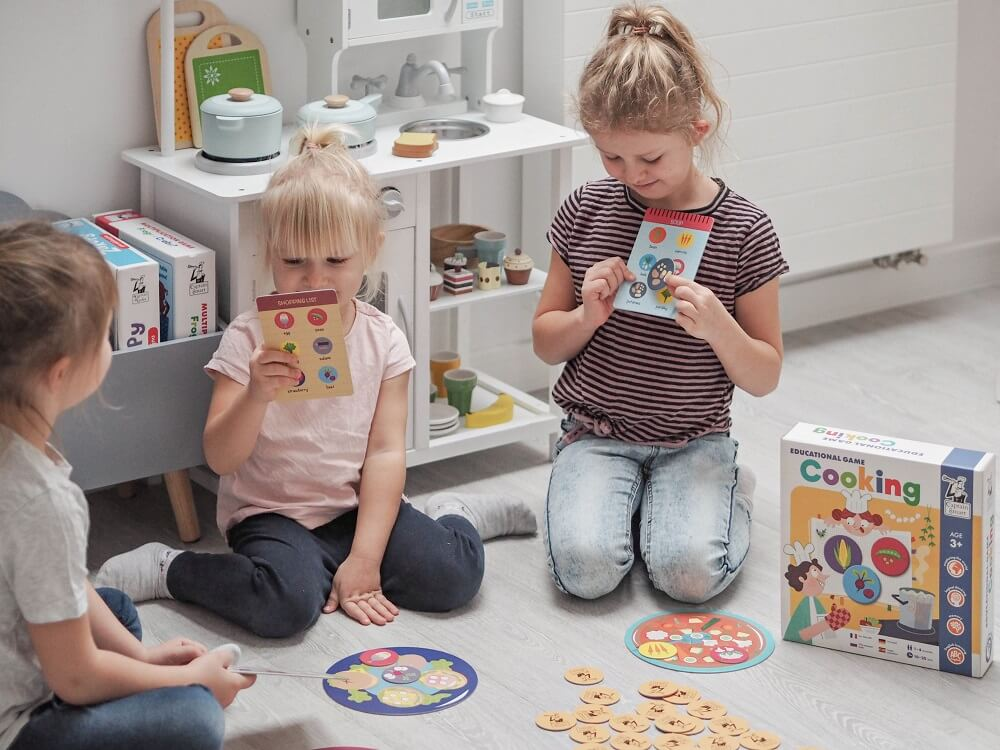 Cooking. Educational Game. Captain Smart - learning toy