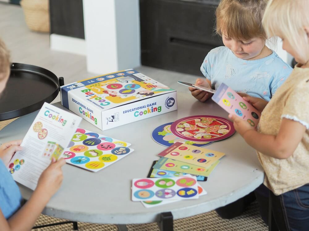 Cooking. Educational Game. Captain Smart - game for 3+ year old kids