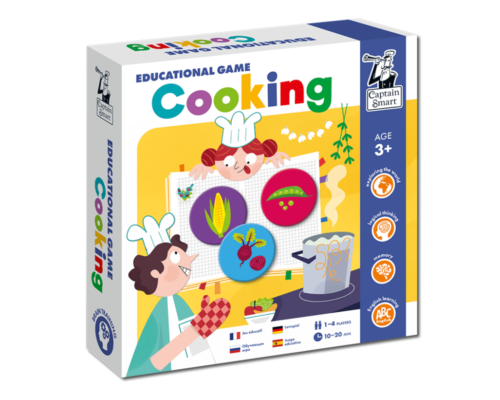Cooking. Educational Game. Captain Smart