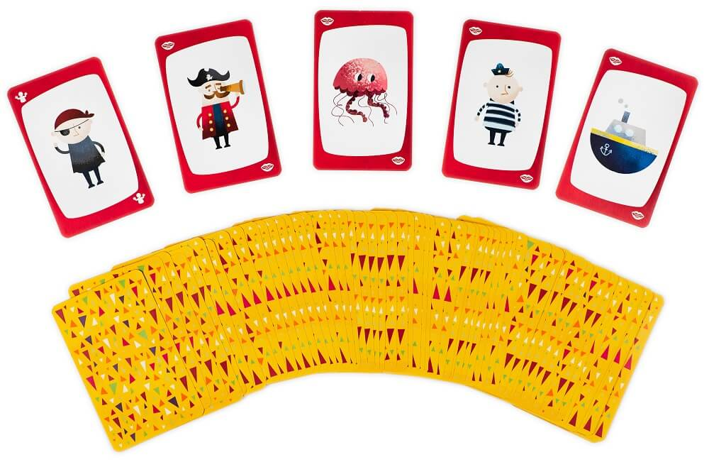 Fun Charades. Family game. Captain Smart - game for children