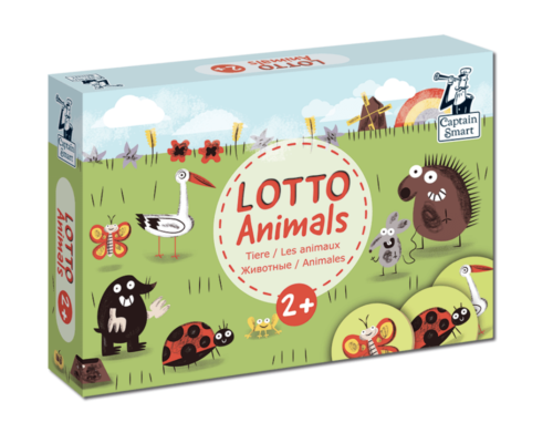 Lotto Animals. Captain Smart