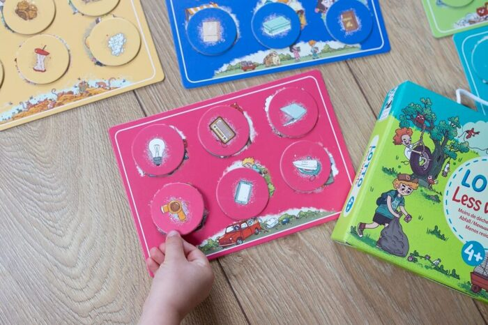 Lotto Less waste. Captain Smart - learning toy