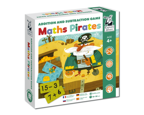 Maths Pirates. Addition and Subtraction Game. Captain Smart