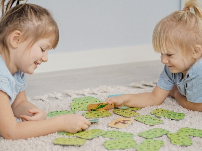 Memo Dinosaurs. Captain Smart - game for children