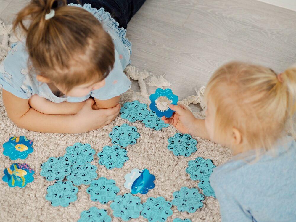Memo Ocean. Captain Smart - game for children