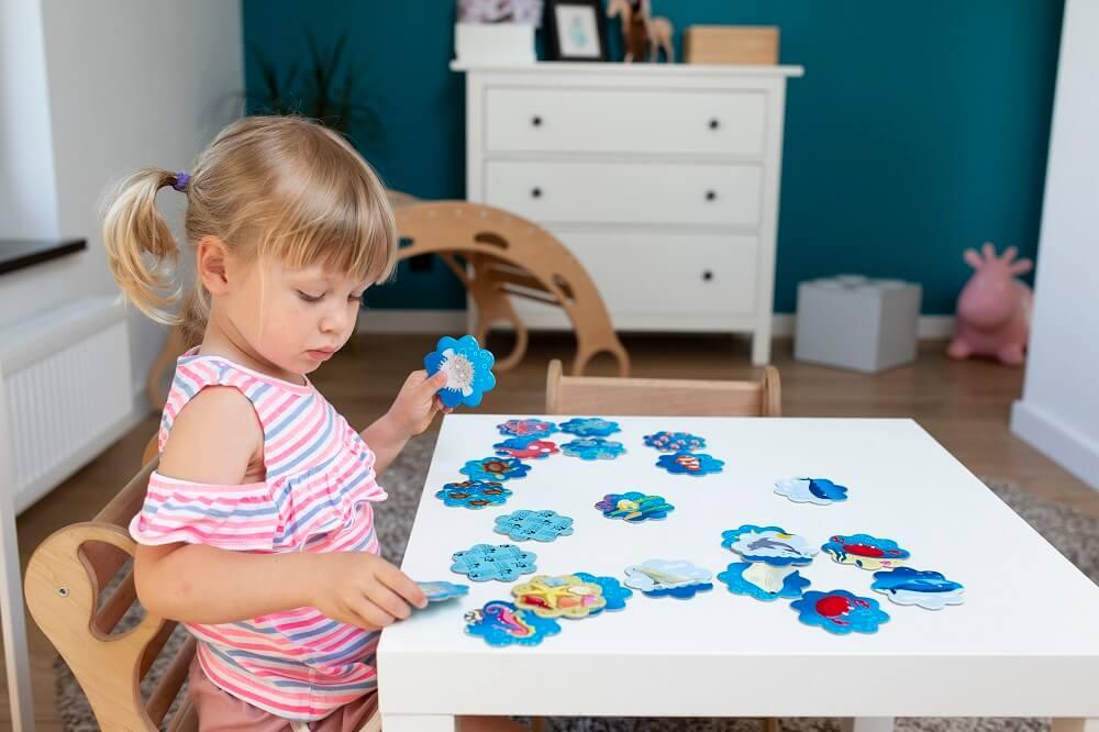 Memo Ocean. Captain Smart - game for 3+ year old kids