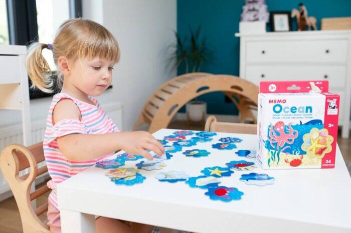 Memo Ocean. Captain Smart - family board game