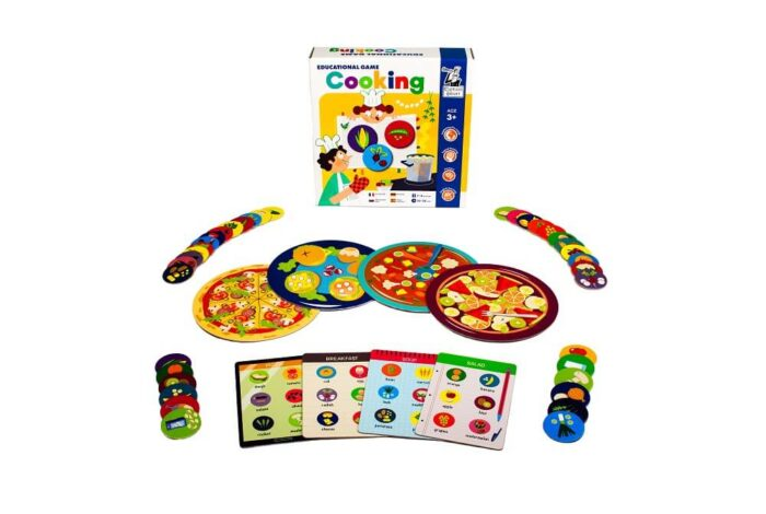 Cooking. Educational Game. Captain Smart - game for children