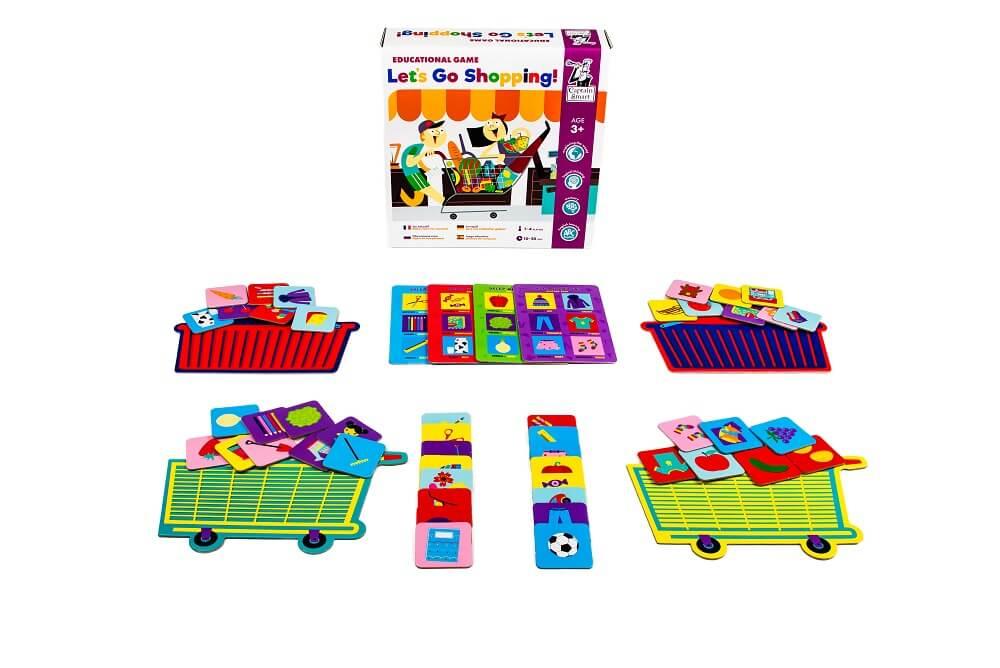 Let's Go Shopping! Educational game. Captain Smart - game for children