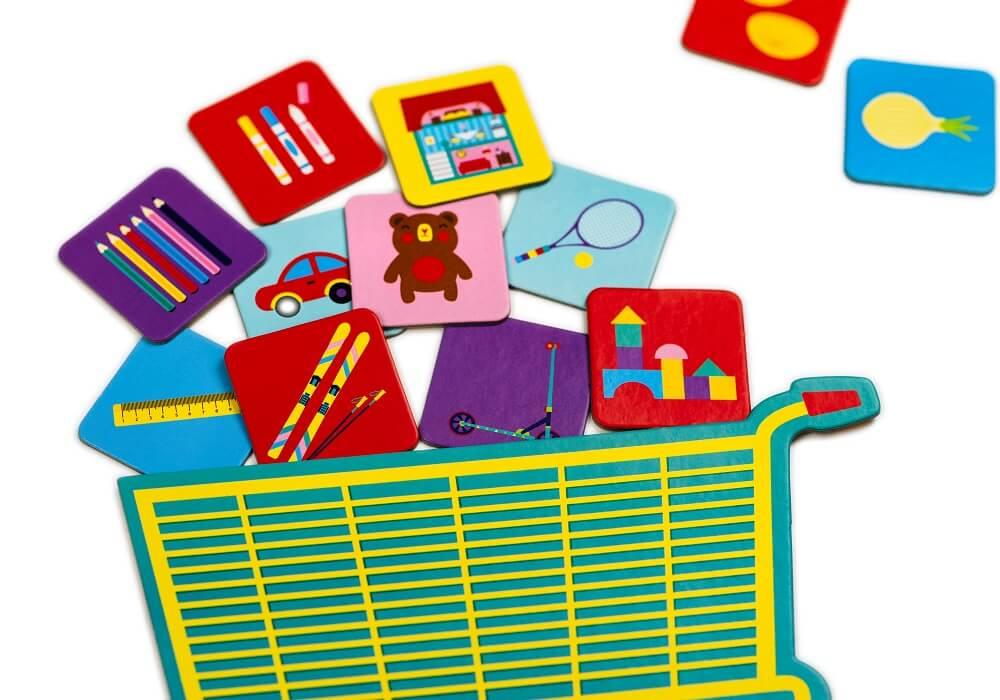 Let's Go Shopping! Educational game. Captain Smart - game for kids