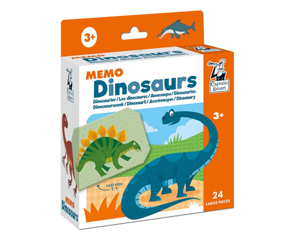 Memo Dinosaurs. Captain Smart
