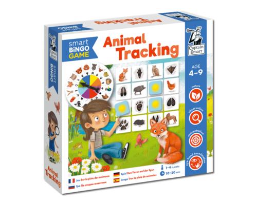 Animal Tracking. Smart Bingo. Captain Smart