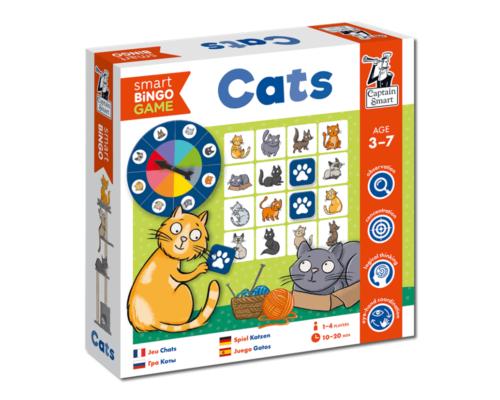 Cats. Smart Bingo. Captain Smart