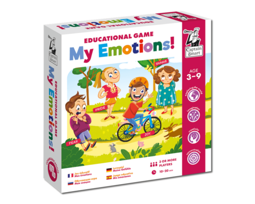 Educational Game My Emotions. Captain Smart