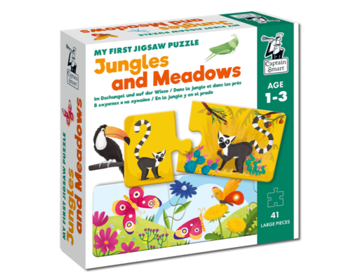 My First Jigsaw Puzzle Jungles and Meadows. Captain Smart